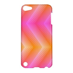 Pattern Background Pink Orange Apple iPod Touch 5 Hardshell Case