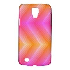 Pattern Background Pink Orange Galaxy S4 Active