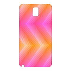 Pattern Background Pink Orange Samsung Galaxy Note 3 N9005 Hardshell Back Case