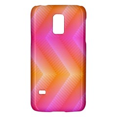Pattern Background Pink Orange Galaxy S5 Mini