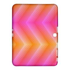 Pattern Background Pink Orange Samsung Galaxy Tab 4 (10.1 ) Hardshell Case
