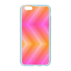 Pattern Background Pink Orange Apple Seamless iPhone 6/6S Case (Color)