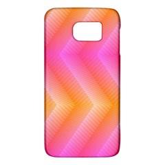 Pattern Background Pink Orange Galaxy S6