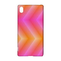Pattern Background Pink Orange Sony Xperia Z3+