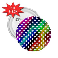 Pattern Template Shiny 2.25  Buttons (10 pack)