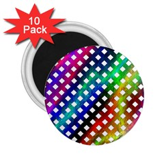 Pattern Template Shiny 2.25  Magnets (10 pack)