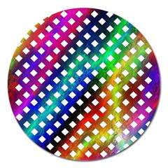 Pattern Template Shiny Magnet 5  (Round)