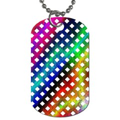 Pattern Template Shiny Dog Tag (One Side)
