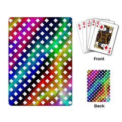 Pattern Template Shiny Playing Card