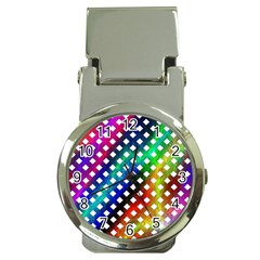 Pattern Template Shiny Money Clip Watches