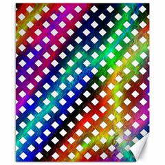 Pattern Template Shiny Canvas 8  x 10