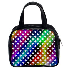 Pattern Template Shiny Classic Handbags (2 Sides)