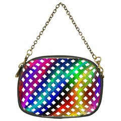 Pattern Template Shiny Chain Purses (One Side)