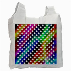 Pattern Template Shiny Recycle Bag (Two Side)