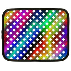 Pattern Template Shiny Netbook Case (XL)