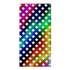 Pattern Template Shiny Shower Curtain 36  x 72  (Stall)