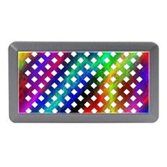 Pattern Template Shiny Memory Card Reader (Mini)
