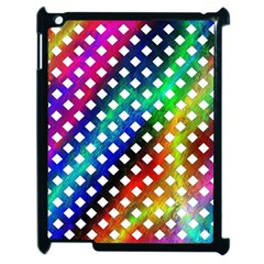 Pattern Template Shiny Apple iPad 2 Case (Black)