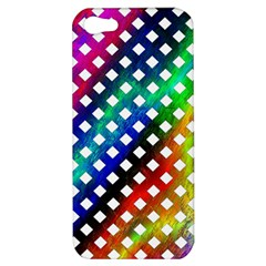 Pattern Template Shiny Apple iPhone 5 Hardshell Case