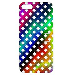 Pattern Template Shiny Apple iPhone 5 Hardshell Case with Stand