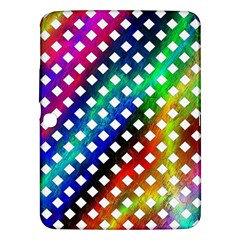Pattern Template Shiny Samsung Galaxy Tab 3 (10.1 ) P5200 Hardshell Case