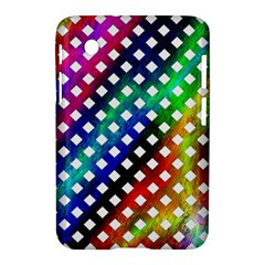 Pattern Template Shiny Samsung Galaxy Tab 2 (7 ) P3100 Hardshell Case