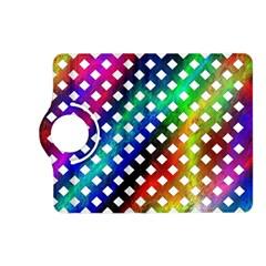 Pattern Template Shiny Kindle Fire HD (2013) Flip 360 Case