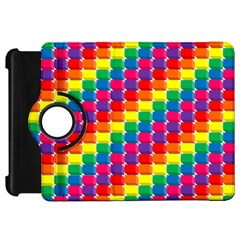 Rainbow 3d Cubes Red Orange Kindle Fire HD 7