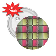 Seamless Pattern Seamless Design 2.25  Buttons (10 pack)