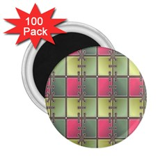 Seamless Pattern Seamless Design 2.25  Magnets (100 pack)