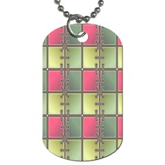 Seamless Pattern Seamless Design Dog Tag (Two Sides)