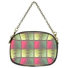 Seamless Pattern Seamless Design Chain Purses (One Side)