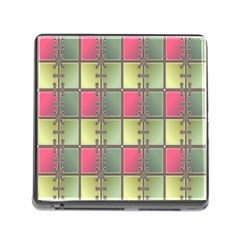 Seamless Pattern Seamless Design Memory Card Reader (Square)