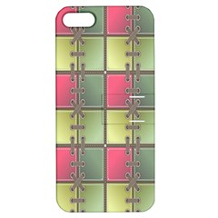 Seamless Pattern Seamless Design Apple iPhone 5 Hardshell Case with Stand
