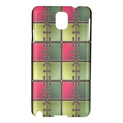 Seamless Pattern Seamless Design Samsung Galaxy Note 3 N9005 Hardshell Case
