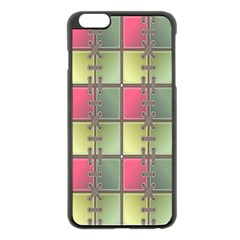 Seamless Pattern Seamless Design Apple iPhone 6 Plus/6S Plus Black Enamel Case