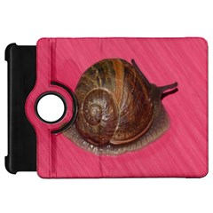 Snail Pink Background Kindle Fire HD 7
