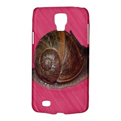 Snail Pink Background Galaxy S4 Active