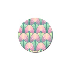 Seamless Pattern Seamless Design Golf Ball Marker