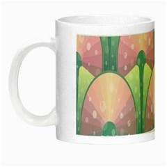 Seamless Pattern Seamless Design Night Luminous Mugs