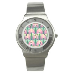 Seamless Pattern Seamless Design Stainless Steel Watch