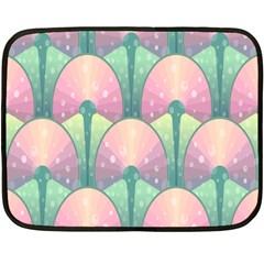 Seamless Pattern Seamless Design Fleece Blanket (Mini)
