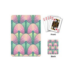 Seamless Pattern Seamless Design Playing Cards (Mini)
