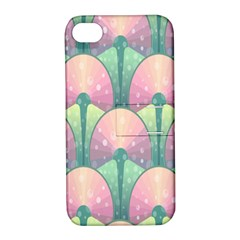 Seamless Pattern Seamless Design Apple iPhone 4/4S Hardshell Case with Stand