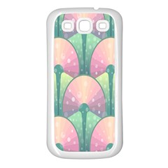 Seamless Pattern Seamless Design Samsung Galaxy S3 Back Case (White)