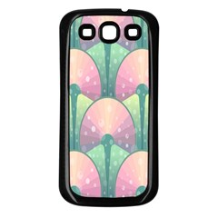 Seamless Pattern Seamless Design Samsung Galaxy S3 Back Case (Black)