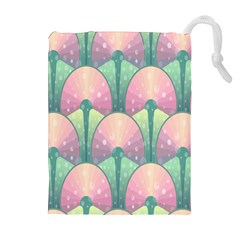 Seamless Pattern Seamless Design Drawstring Pouches (Extra Large)