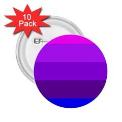 Transgender Flag 2.25  Buttons (10 pack)