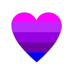 Transgender Flag Heart Magnet