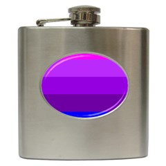 Transgender Flag Hip Flask (6 oz)